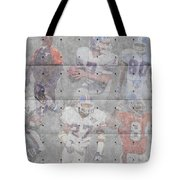 Denver Broncos Legends Tote Bag
