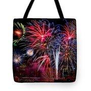 Denver Fireworks Finale Tote Bag