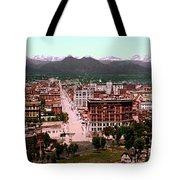 Denver Panorama 1897 Tote Bag