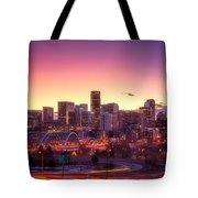 Denver Sunrise Tote Bag