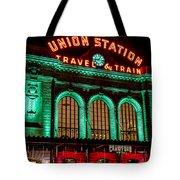 Denver's Union Station Tote Bag