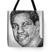 Denzel Washington In 2009 Tote Bag by J McCombie