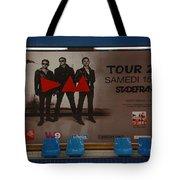 Depech Mode Tour Tote Bag
