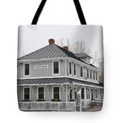 Depot Lodge Tote Bag