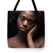 Chynna African American Nude Girl In Sexy Sensual Photograph And In Color 4787.02 Tote Bag