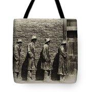 Depression Era Bread Line Tote Bag