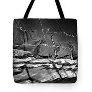 Depth In Black Tote Bag