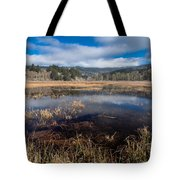 Depths Of Dry Lagoon Tote Bag