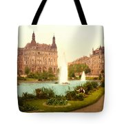 Der Deutsche Ring-cologne-the Rhine-germany -  Between 1890 And  Tote Bag