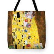 Der Kuss Or The Kiss. Tote Bag