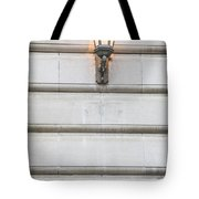 Derby Hall Sign And Light  Tote Bag