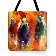 Derby Horse Race Racing Tote Bag