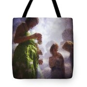 Derby People 1 Water Color 1 Tote Bag