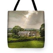 Derbyshire Cottages Tote Bag by Amanda Elwell