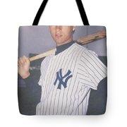 Derek Jeter New York Yankees Tote Bag