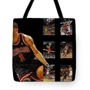 Derrick Rose Tote Bag