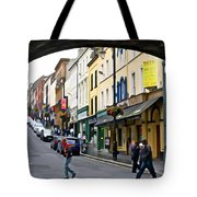 Derry Life - Irish Art By Charlie Brock Tote Bag