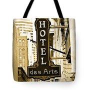 Art Hotel Tote Bag