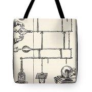 Descarges Electriques Dan Lai Rarefie Tote Bag by French School