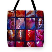 Descent Into Heaven Assemblage In Lower Antelope Canyon In Lake Powell Navajo Tribal Park In Page-az Tote Bag