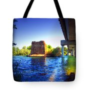 Deschutes Bridge  Anderson Ca  Watercolor   Tote Bag