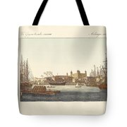 Description Of The Tower Of London Tote Bag