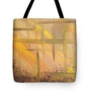 Desert Abstract Tote Bag