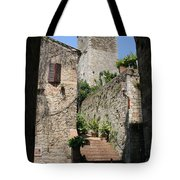 Desert Alley In San Gimignano Tote Bag