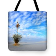 Desert Beauty White Sands New Mexico Tote Bag