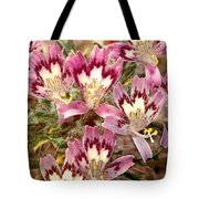 Desert Calico Wildflowers Tote Bag