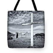 Desert Cross Tote Bag