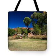 Desert Field Tote Bag