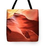 Desert Flames Tote Bag