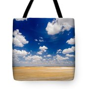 Desert Flatlands Tote Bag