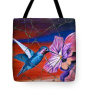 Desert Hummingbird - Study No. 1 Tote Bag