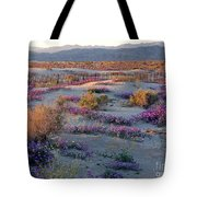 Desert In Bloom Tote Bag