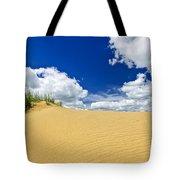 Desert Landscape In Manitoba Tote Bag