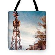 Desert Lighthouse Tote Bag