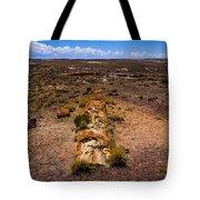 Desert Log Tote Bag