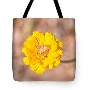 Desert-marigold Moth Tote Bag