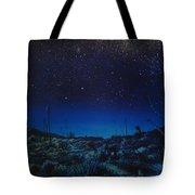 Desert Meteor Tote Bag