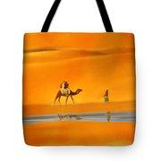 Desert Mirage Tote Bag