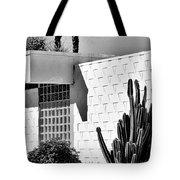 Desert Modern Bw Palm Springs Tote Bag