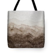 Desert Mountain Mist Original Painting Tote Bag