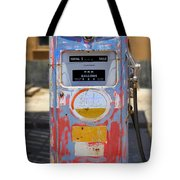 Desert Mountain Super Gasoline - Bennett Gas Pump Tote Bag