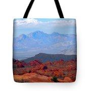 Desert Mountain Vista Tote Bag