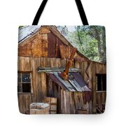 Desert Outback Farm Building Tote Bag