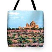 Desert Palace Tote Bag