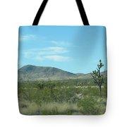Desert Panoramic Tote Bag