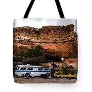 Desert Pit Stop Tote Bag